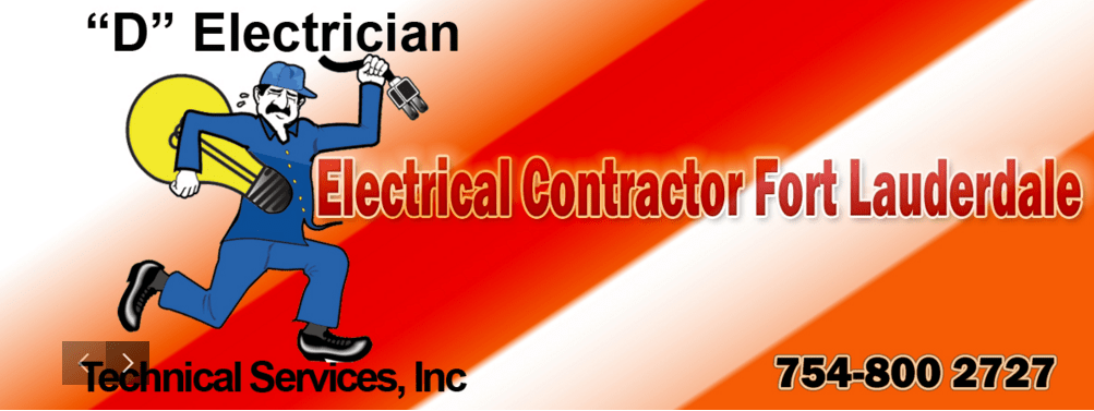 North Lauderdale Electrician 954-726-0394